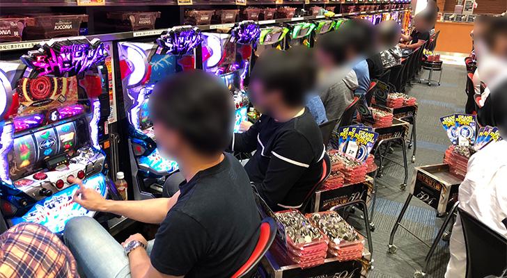 20180602キコーナ新大阪 出玉状況2