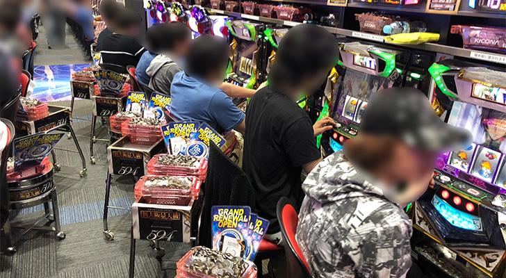 20180602キコーナ新大阪 出玉状況3
