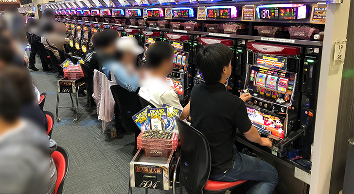 20180602キコーナ新大阪 出玉状況5
