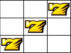 ハーデス 右上がり黄7
