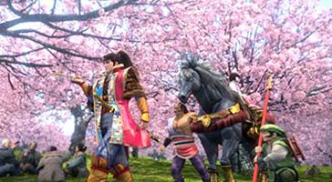 花の慶次剛弓ver.桜並木