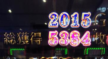 総獲得5384枚