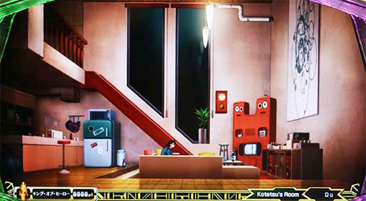 パチスロ TIGER & BUNNY 虎徹の部屋ステージ
